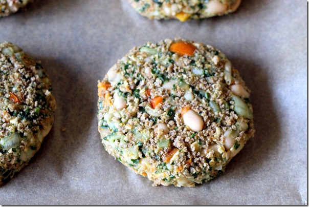 White Bean, Kale and Sweet Potato Burgers 061