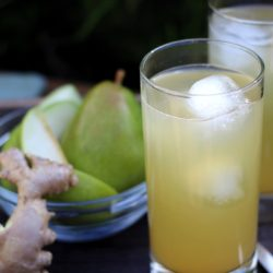 Ginger Pear Spritzers + Things I'm loving lately