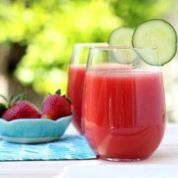 'Glow From Within' Watermelon Juice