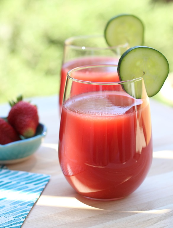 Glow From Within' Watermelon Juice - Making Thyme for Health