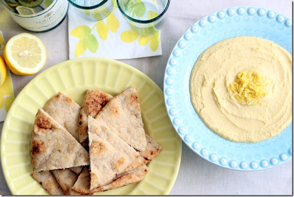 Lemon Garlic Hummus (65)