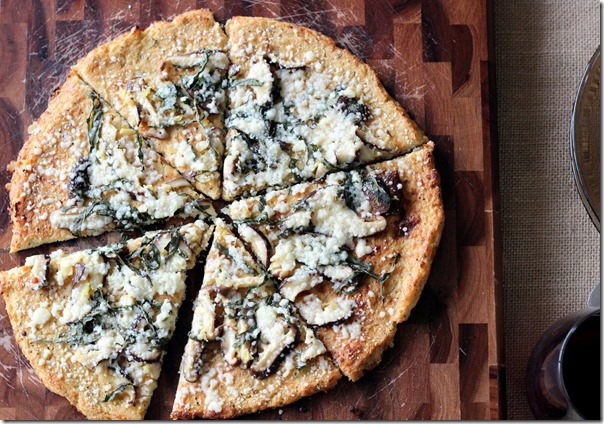 Shiitake, Basil and Lemon Cauliflower Pizza (83)