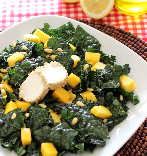 Black Kale & Mango Salad (101)