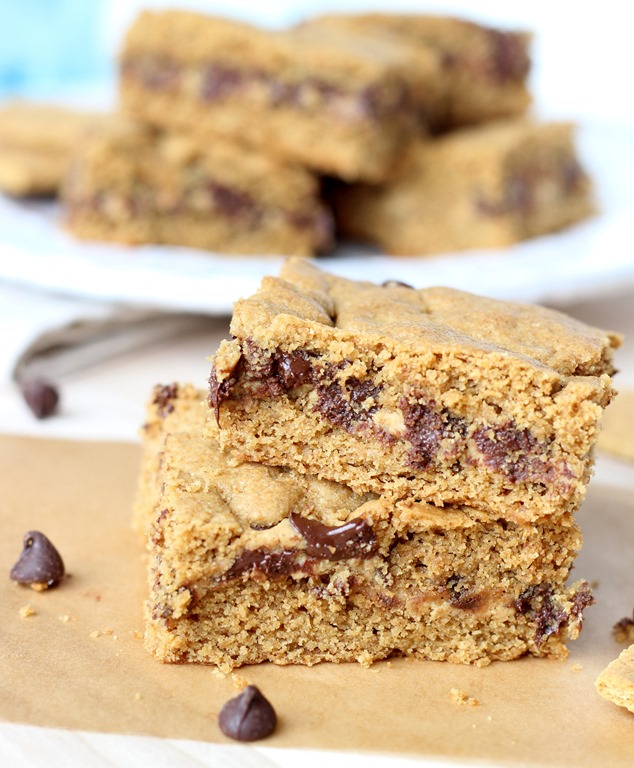 Chocolate Peanut Butter Bars Peanut Butter Chocolate Chip