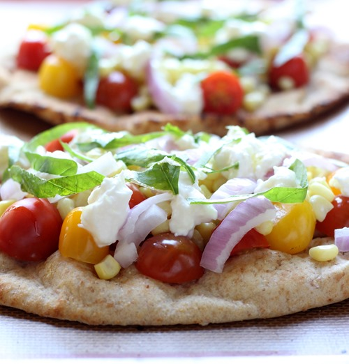 Roasted Corn & Tomato Naan Pizzas (56)