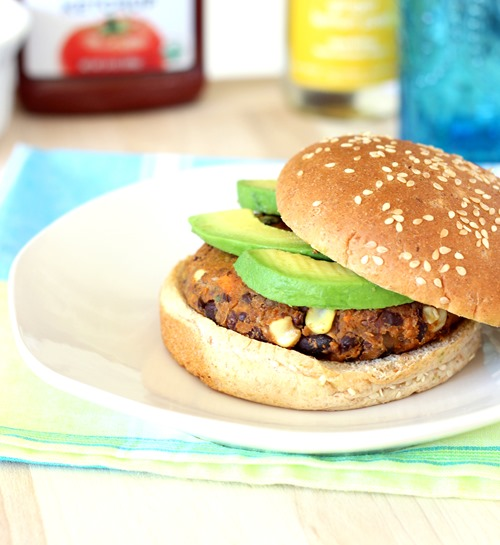 Sweet Potato & Black Bean Burgers (1)