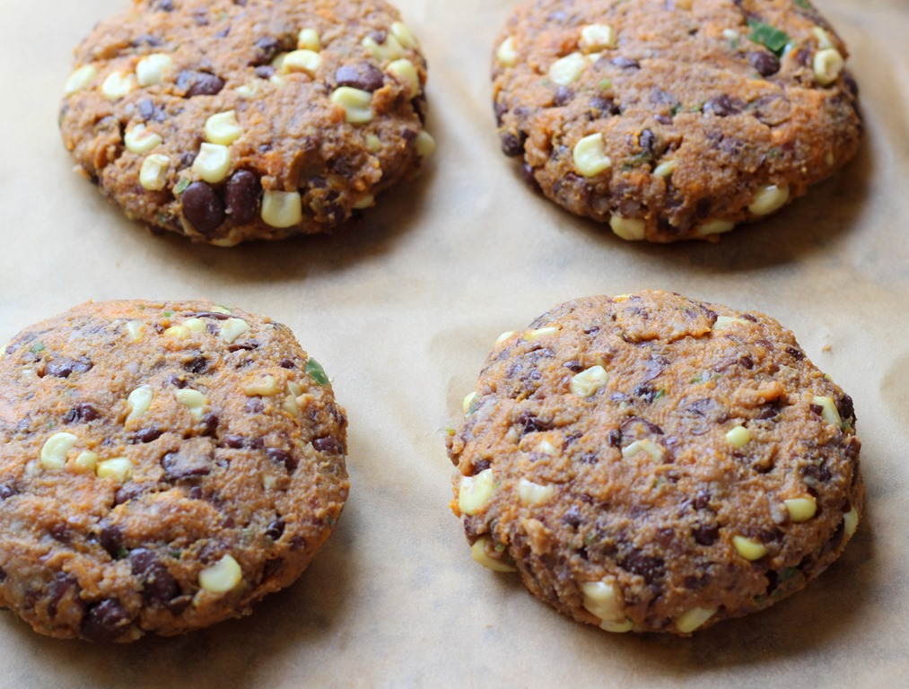 Sweet Potato & Black Bean Burgers - Making Thyme for Health