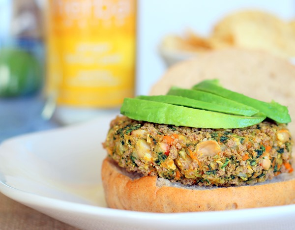 White Bean, Kale and Sweet Potato Burgers 1472