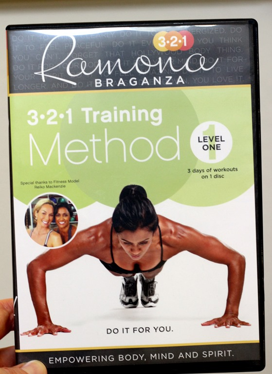 Ramona Braganza 321 Workout Level One DVD Review - Making Thyme for Health