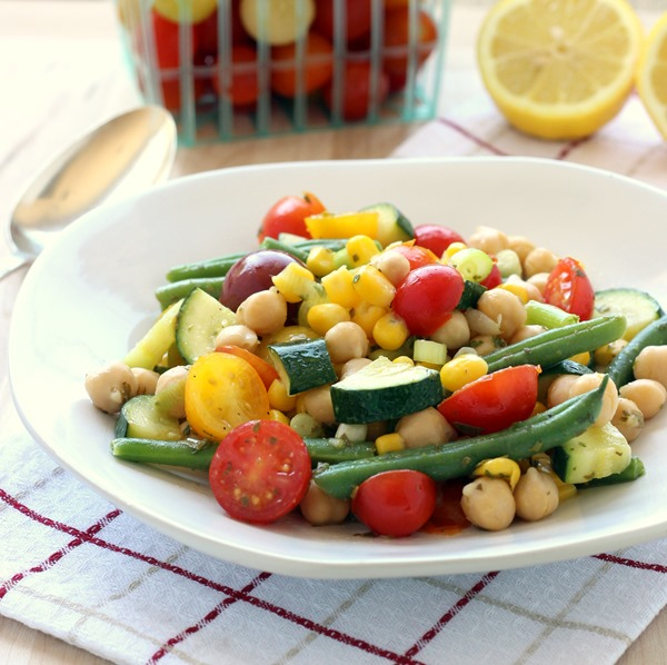 Easy Summer Veggie Salad (105)