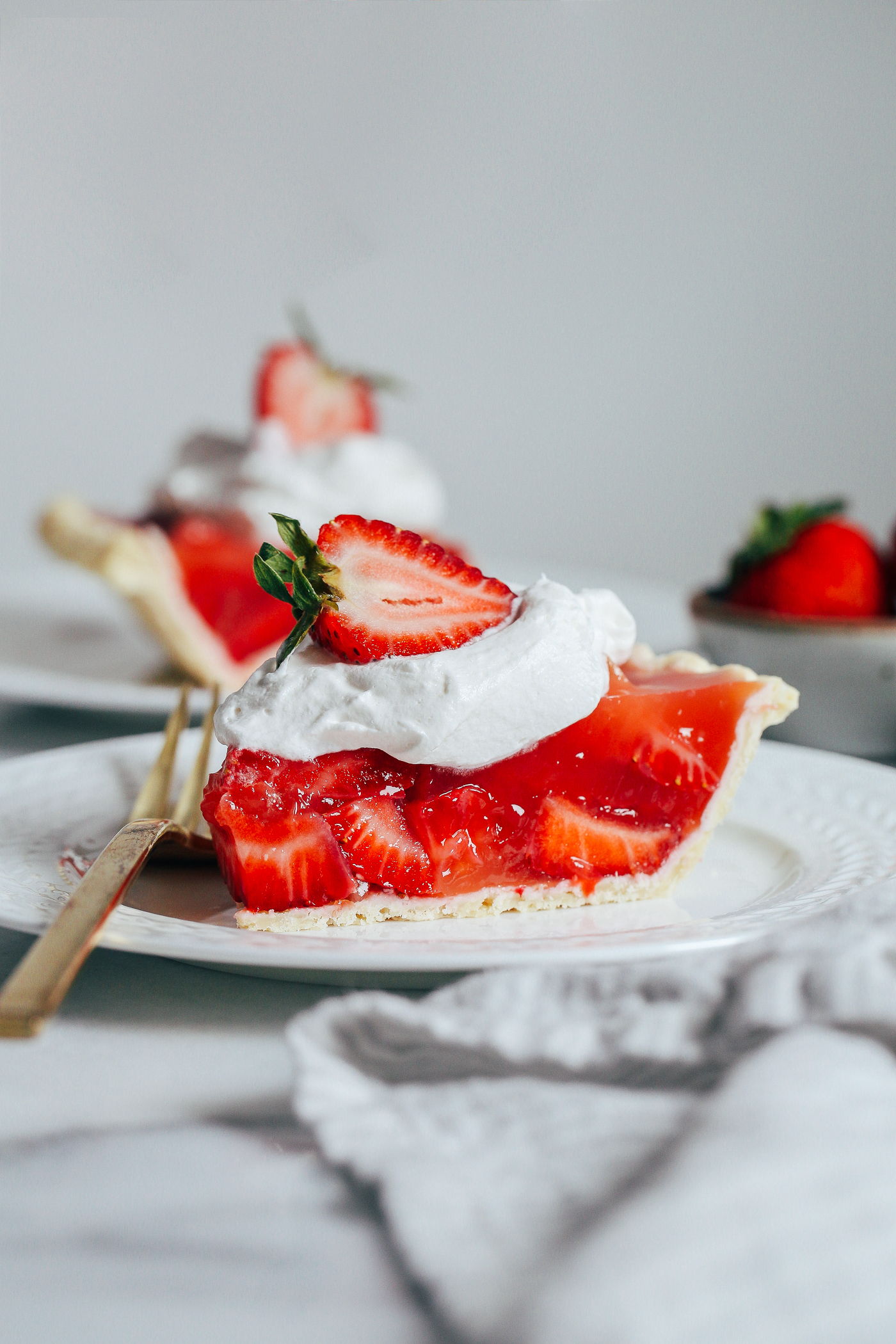 Easy Strawberry Pie Making Thyme For Health