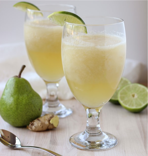 Ginger Pear Spritzers 01