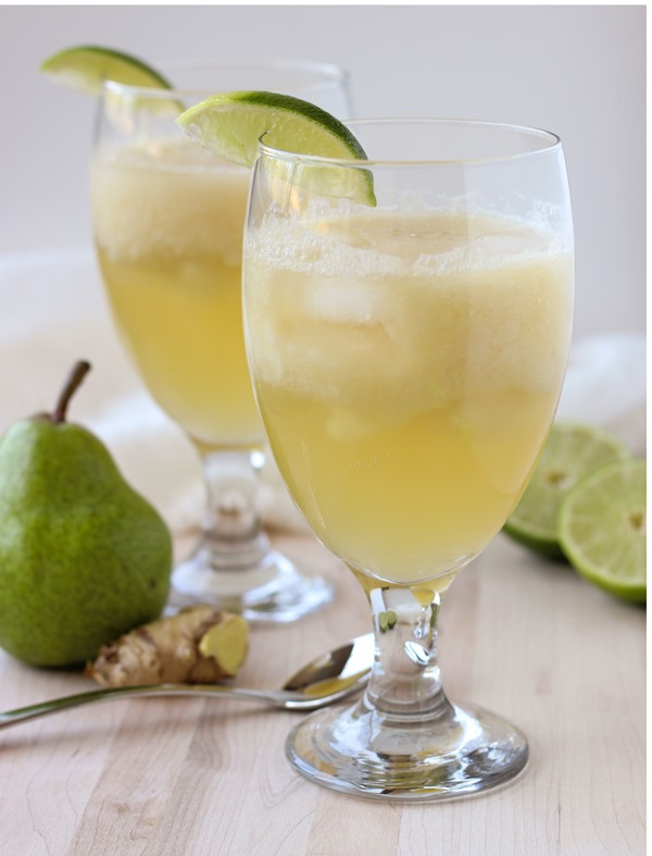 Ginger Pear Spritzers 14