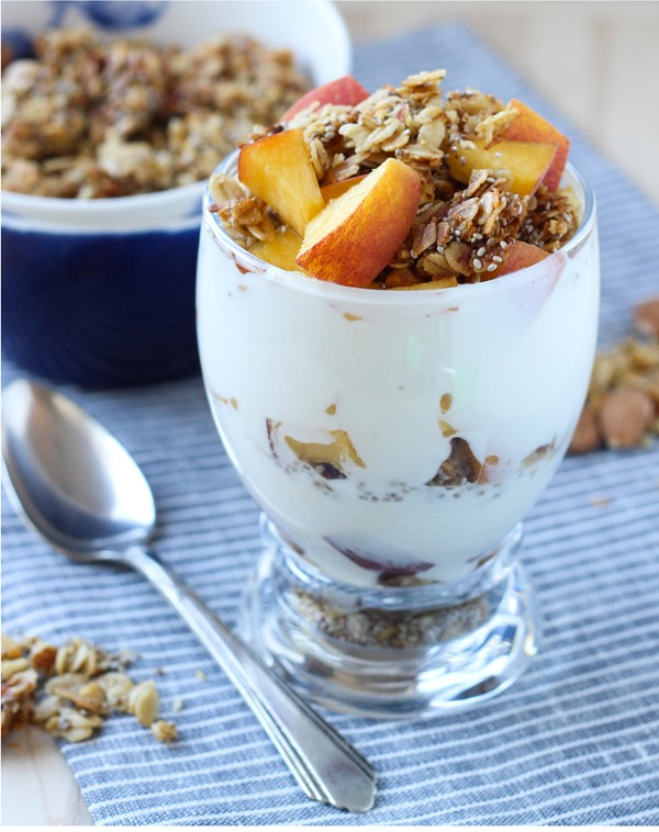Honey Almond Chia Granola20