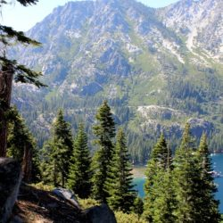 South Lake Tahoe: Sprouts Café + Hiking Bayview Trail