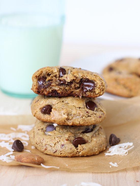 Almond Joy Cookies {gluten free, dairy free & refined sugar free} 1