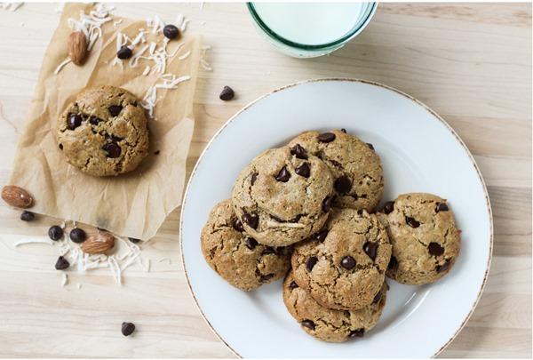 Almond Joy Cookies {gluten free, dairy free & refined sugar free} 9