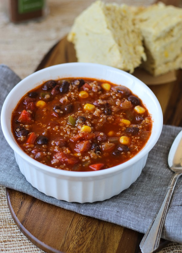 Best Ever Quinoa Chili {vegan and gluten-free}