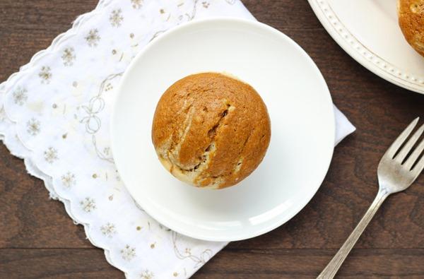 Skinny Pumpkin Cream Cheese Muffins
