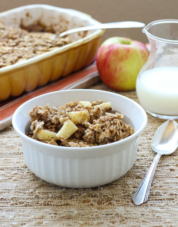 Vegan Apple Cranberry Oatmeal Bake Recipe — Dishmaps