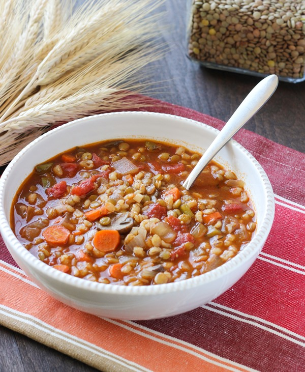 Vegan Lentil Barley Stew