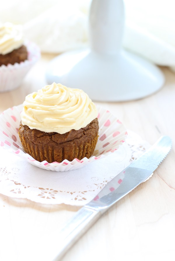Sweet Potato Quinoa Flour Cupcakes - Making Thyme for Health