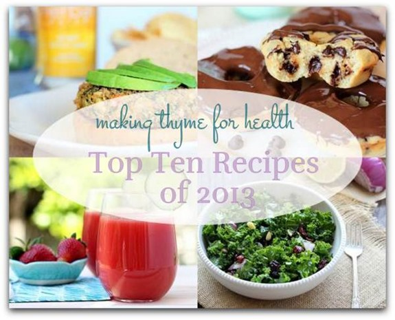 Top Ten Recipes of 2013