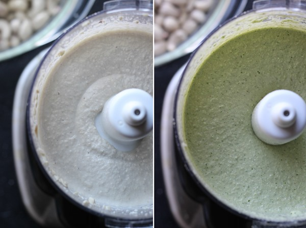 Cilantro Cashew Crema