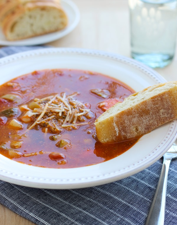 Soupe au Pistou - Making Thyme for Health