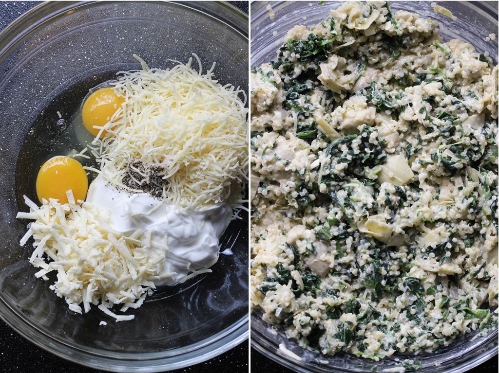 Spinach Artichoke Casserole Artichoke Quinoa Casserole
