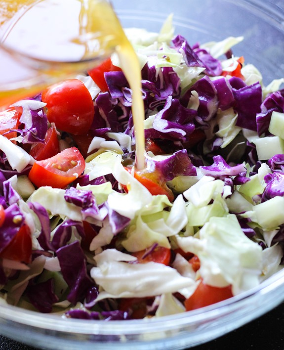 how to make coleslaw vegan
