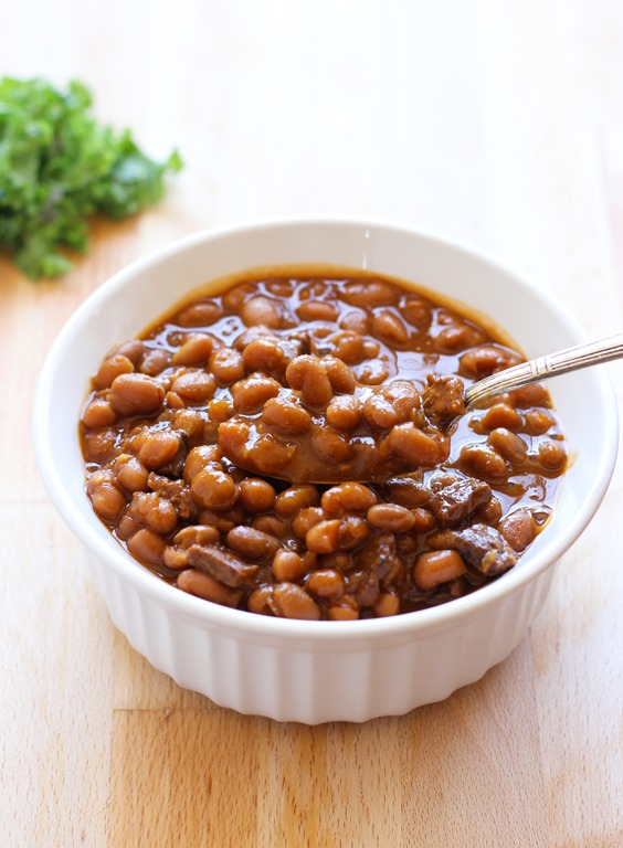 Best-Ever Slow-Cooker Baked Beans - Making Thyme for Health