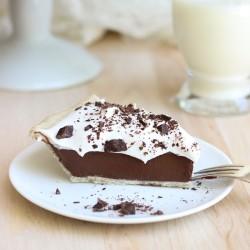 Vegan Silk Chocolate Pie