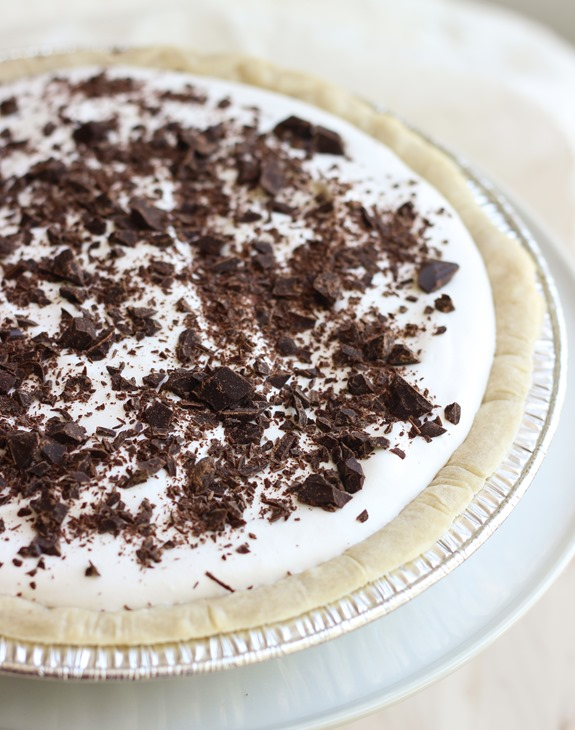 Silk Chocolate Pie {vegan and gluten-free}