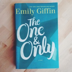 Book Review: The One and Only by Emily Giffin
