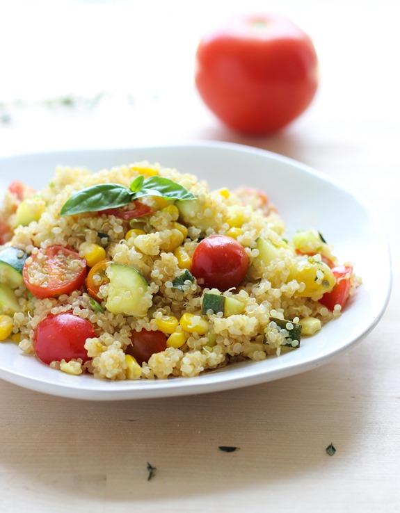 Summer Vegetable Skillet Quinoa