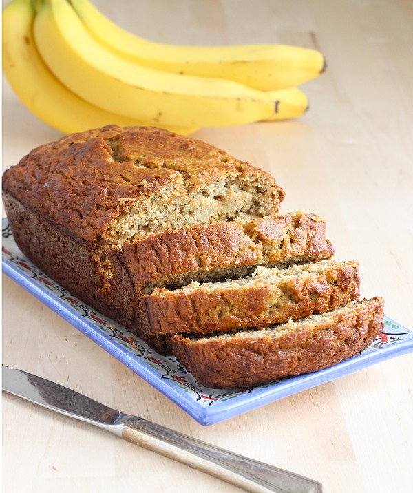 The Perfect Banana Bread {gluten-free}
