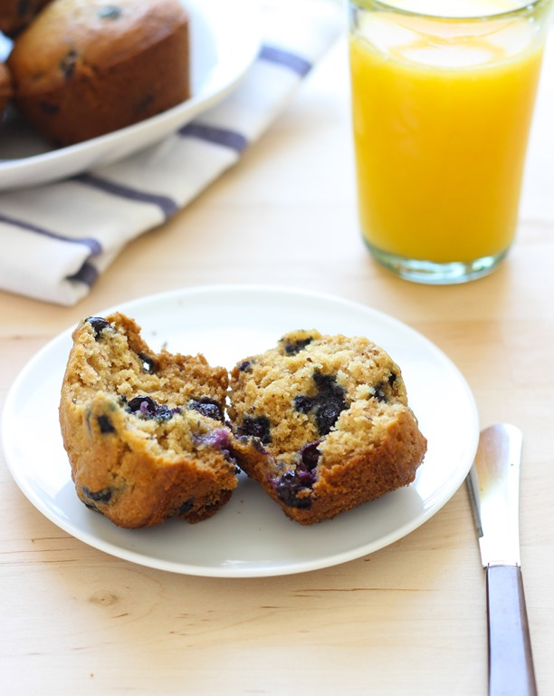 Gluten-free Blueberry Muffins - Making Thyme for Health