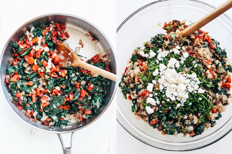 3ccf93c144b6 Mediterranean Quinoa Stuffed Peppers - Making Thyme for Health