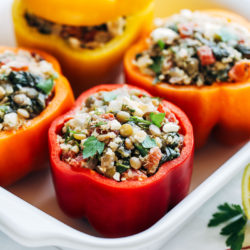 Mediterranean Stuffed Peppers 101