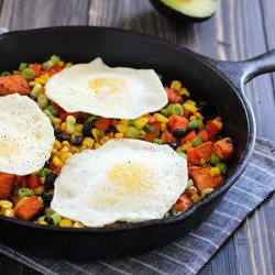 Southwestern Sweet Potato Skillet