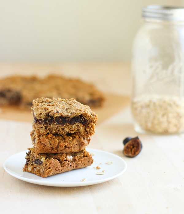 Oatmeal Fig Newton Bars #vegan #glutenfree | Making Thyme for Health