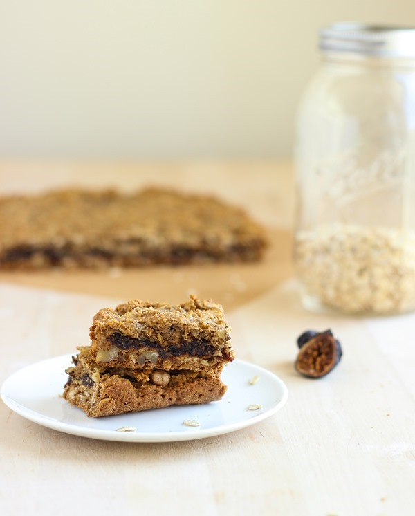Oatmeal Fig Newton Bars #glutenfree #vegan | Making Thyme for Health