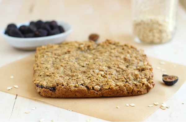 Gluten Free Oatmeal Fig Newton Bars