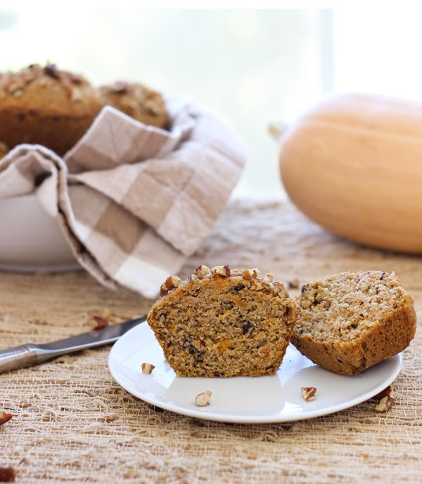 Spiced Maple Butternut Squash Muffins | Making Thyme for Health