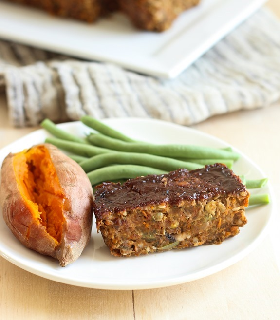 Sarah Brown cheese and lentil loaf