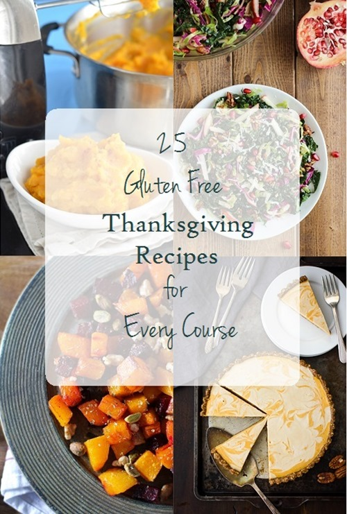 Perfect recipes for guests with food allergies! #glutenfree #dairyfree #vegetarian #thanksgiving