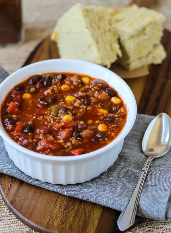 Best-Ever-Quinoa-Chili #vegan #glutenfree