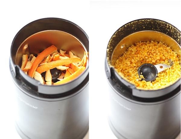 how to dry orange peel
