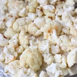 Garlic Lemon Roasted Cauliflower